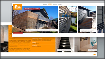 Alexandre Shareck Architecte - Website - artefact 3